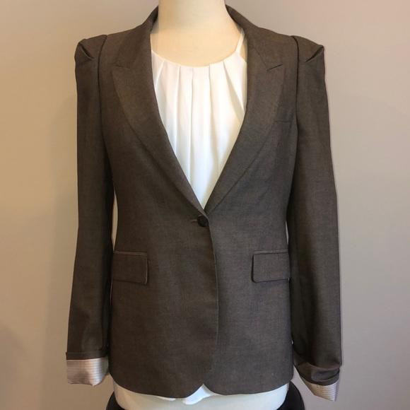 Zara Jackets & Blazers - Zara Woman Brown Blazer Sz M